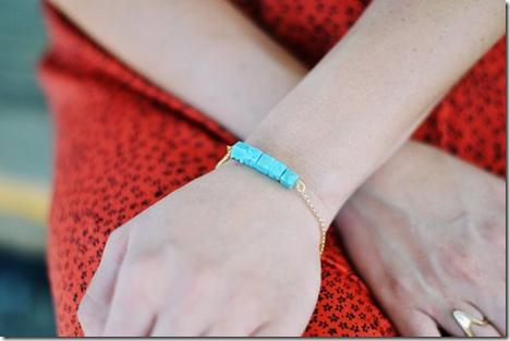 THREADS turquoise bracelet