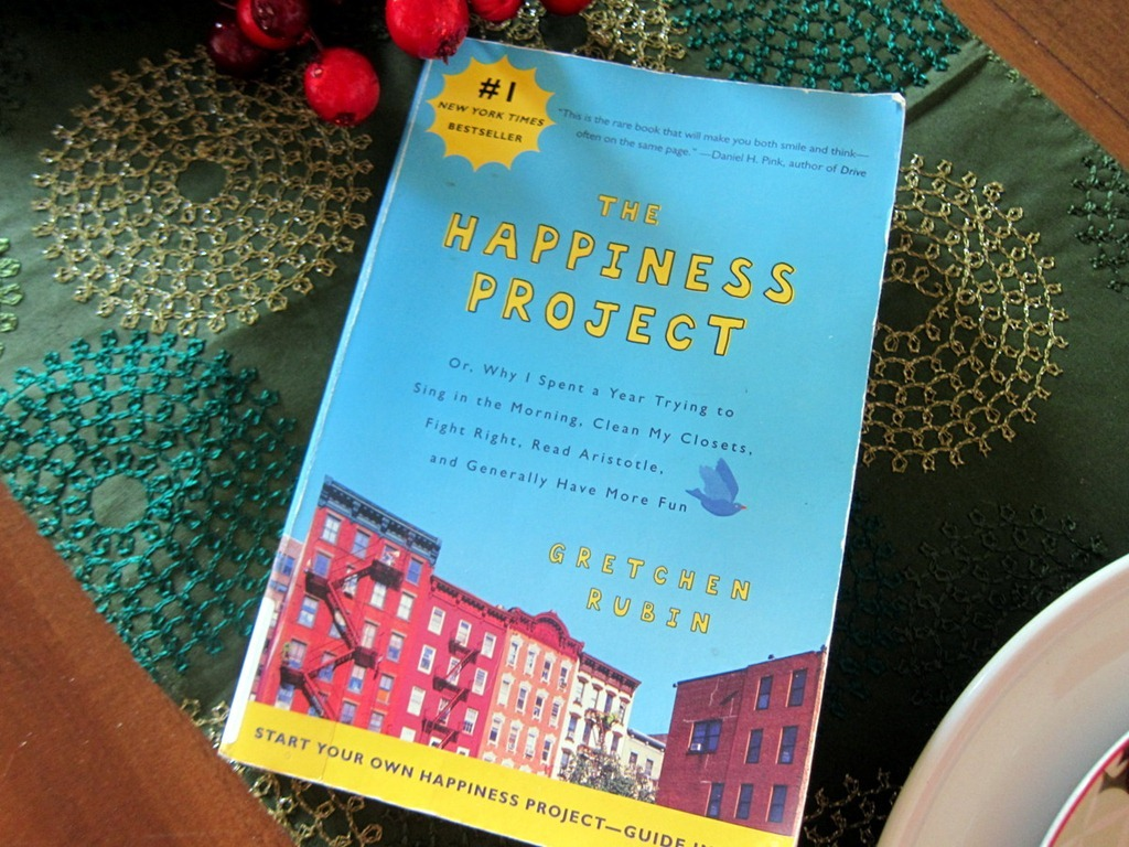 happiness project com Today i discovered gretchen rubin's blog the happiness project i found it to be  inspiring, a go-to place on those days when we aren't quite up.
