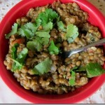 Crock Pot Curried Lentils