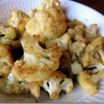 Easy Roasted Curry Ginger Cauliflower