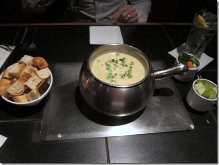 Melting Pot Cheese Fondue