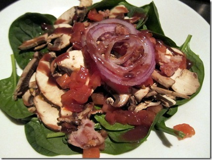 Melting Pot Spinach Salad
