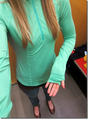 Old Navy Green Workout Pullover