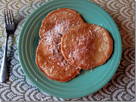 almond butter pancakes 001