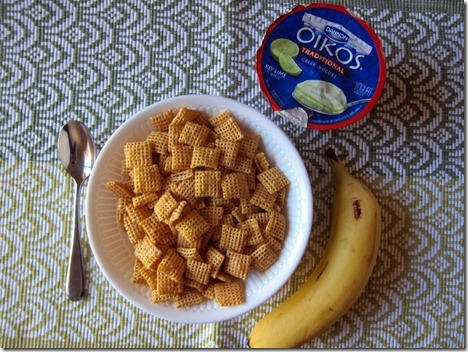 cereal yogurt banana