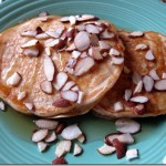 pancakes with almond butter