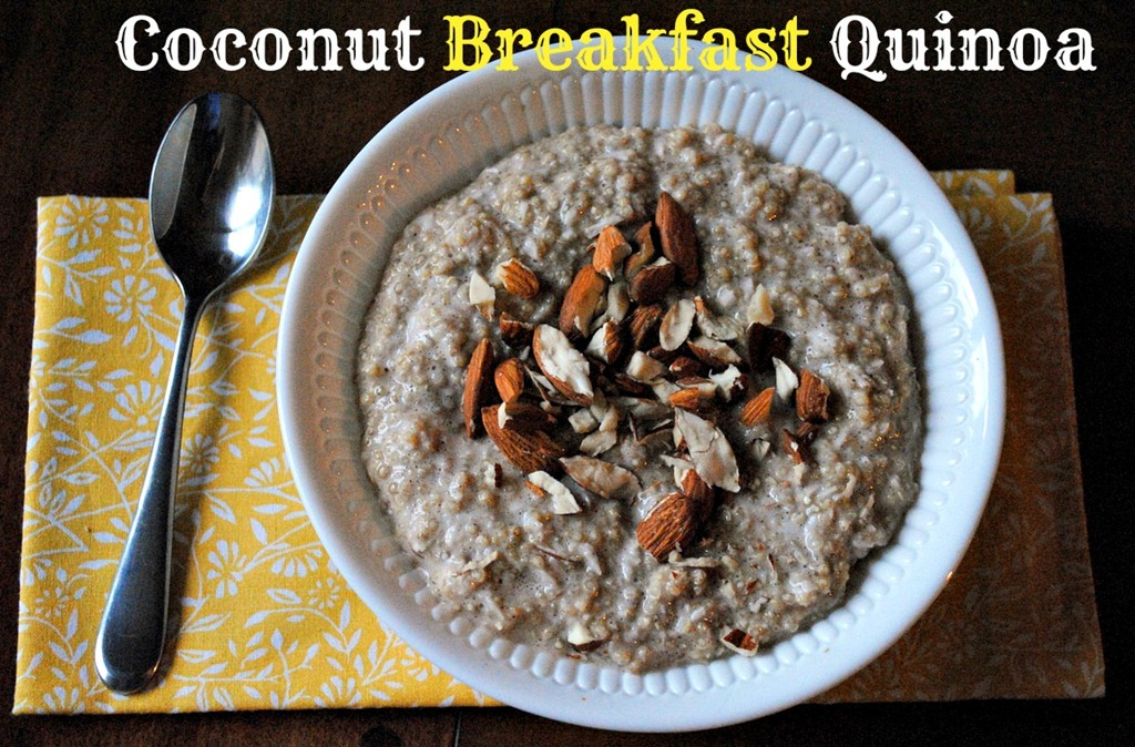 Coconut Breakfast Quinoa | Peanut Butter Fingers