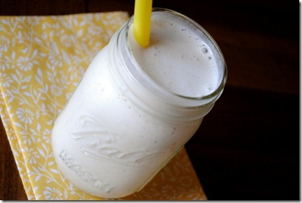 Coconut Vanilla Smoothie