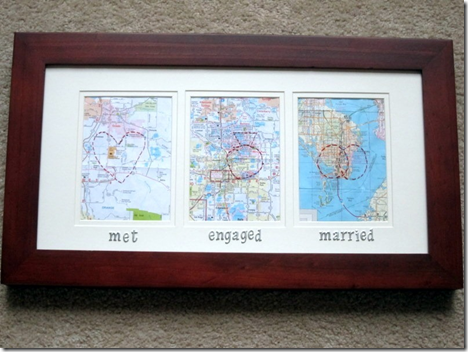Met Engaged Married Map Project