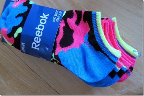 Reebok neon socks