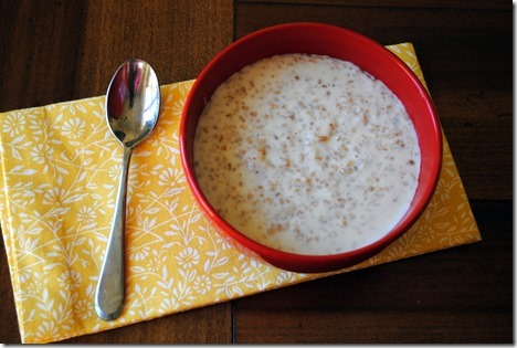 Steel Cut Oats with Milk 017-001