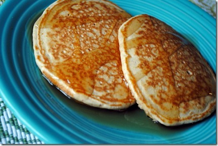 pancakes almond butter whole wheat