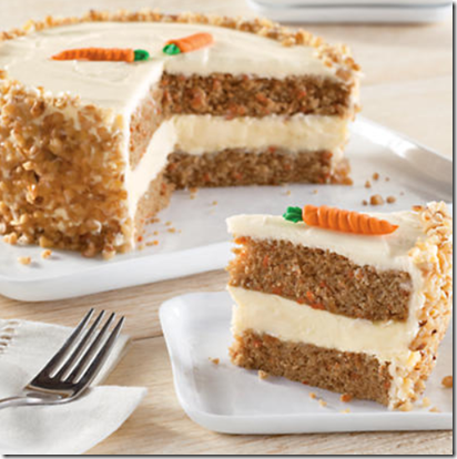 Harry & David Carrot Cake Cheesecakes