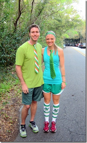 St. Patrick's Day Race