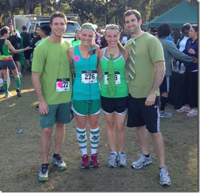 St. Patty's Day Race