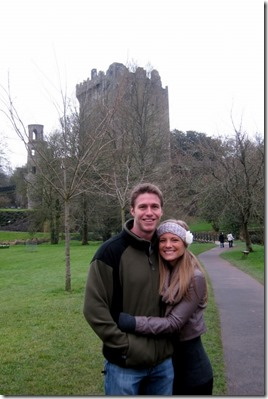 Visiting Blarney Castle
