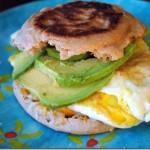 avocado egg breakfast sandwich