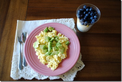 eggs and parfait