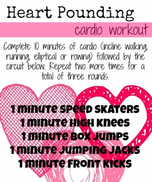 Heart Pounding Cardio Workout