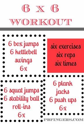 6x6 Workout