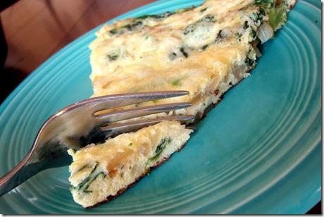 Broccoli & Cheese Frittata