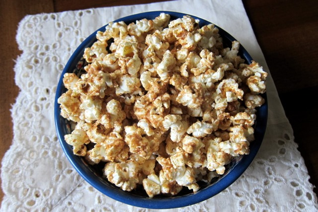 Cinnamon Peanut Butter Popcorn Recipe