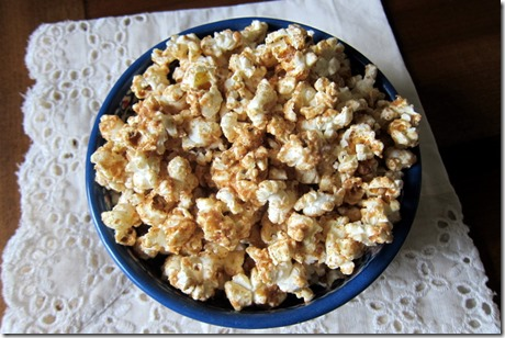 Cinnamon PeanutButter Popcorn