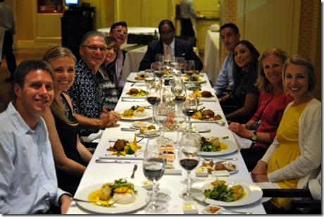 Dinner in Quito