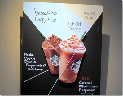 Frappuccino Happy Hour