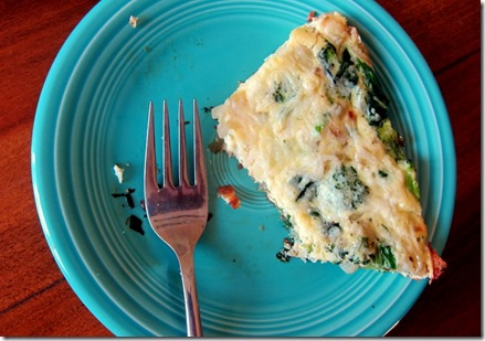 Frittata with Broccoli and Cheese