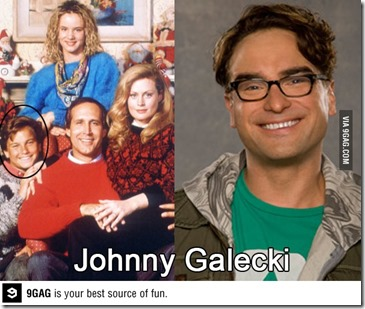 Johnny Galecki Rusty Griswold Leonard