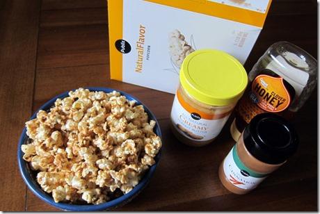 Cinnamon Peanut Butter Popcorn