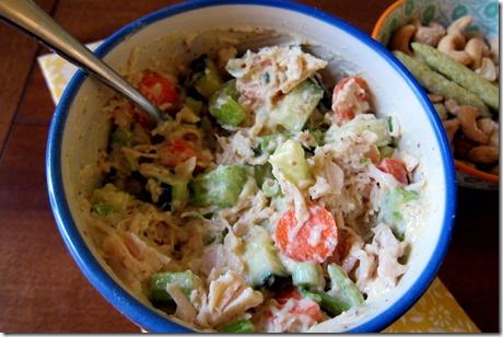 Three Mustard Chicken Salad