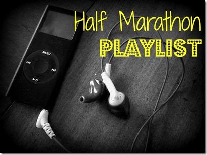 half marathon playlist