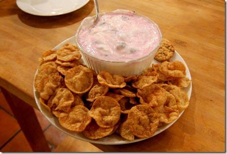 Blackberry Greek Yogurt Dip