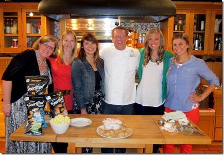 Chef Jody Denton and Smartfood