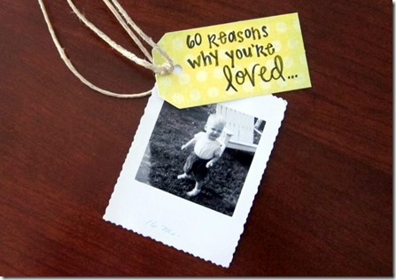 Reasons Why You're Loved Birthday Gift