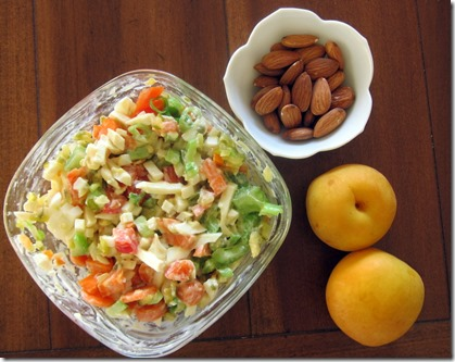 egg salad with apricots
