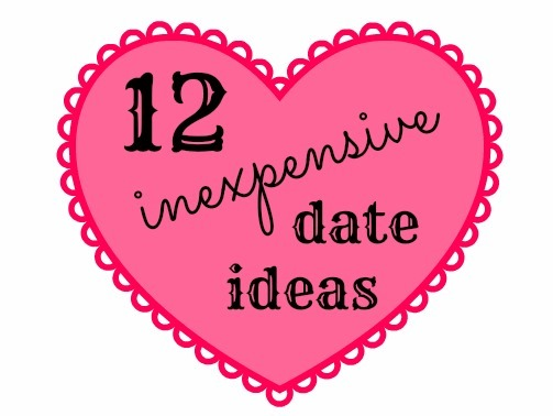 Inexpensive and unique dating ideas