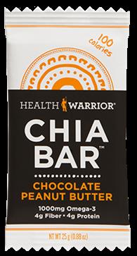 Chocolate Peanut Butter Chia Bar