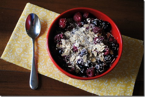 Cottage Cheese Breakfast Bowl
