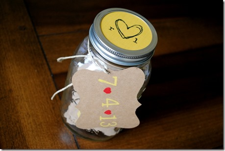 Jar Full of Date Ideas!