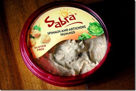Sabra Spinach Artichoke Hummus