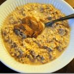 almond butter overnight oats