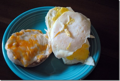 egg sandwich breakfast