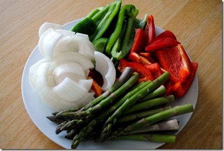 vegetables for grilling