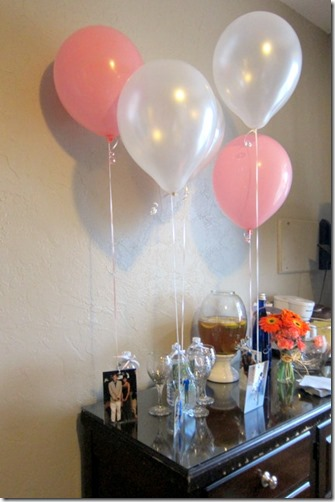 Bachelorette Party Balloons and pictures