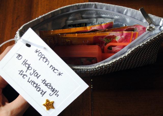 Bachelorette Party Gift Basket - Peanut Butter Fingers