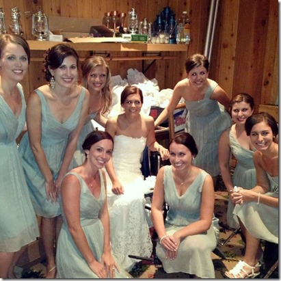 Bridesmaids in a Closet
