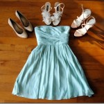 J.Crew Bridesmaid dress mint green
